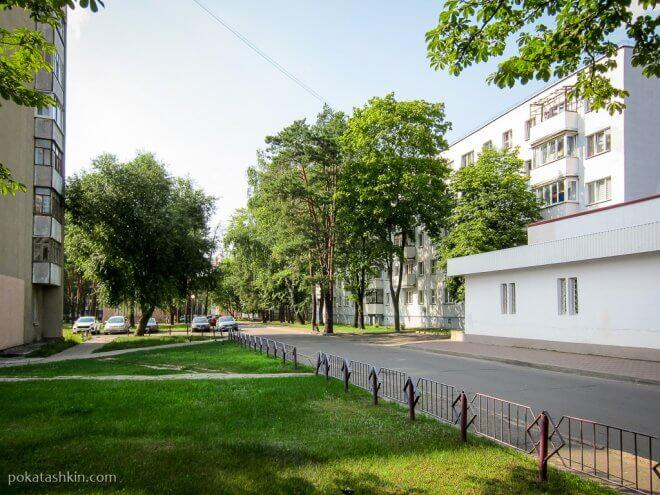 Дворы Первомайского микрорайона (Светлогорск)