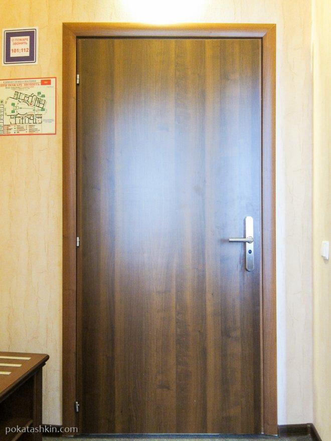 Дверь в номер (гостиница «Минин» / Minin Hotel)