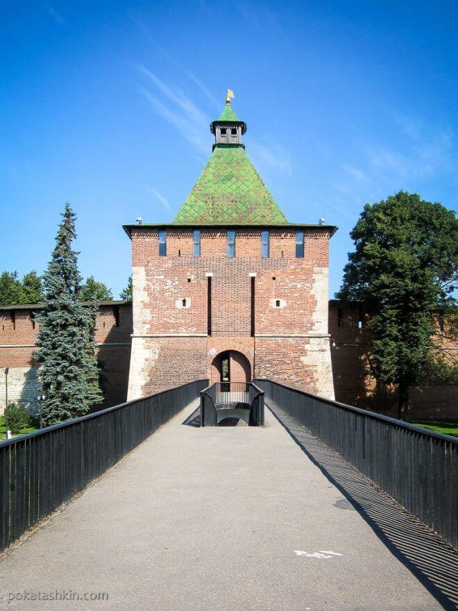 Башня Нижегородского кремля