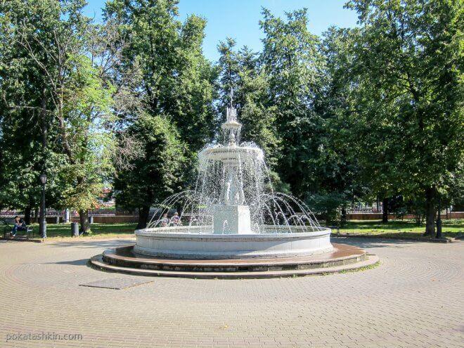 Первый городской фонтан в Нижнем Новгороде
