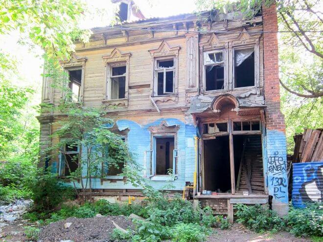 Заброшенное здание (Нижний Новгород)