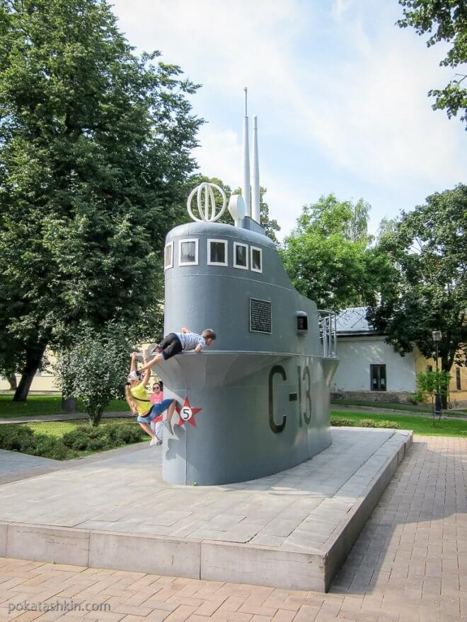"""Рубка подводной лодки """"С-13"""""""