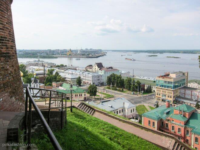 Нижегородский кремль: обзорная площадка