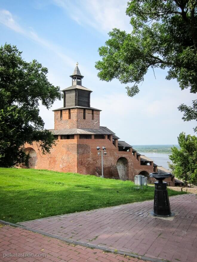 Нижегородский кремль: Часовая башня