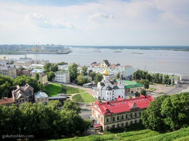 Нижний Новгород: Волга и Ока