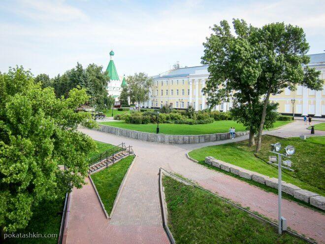 Нижегородский кремль: внутренняя часть