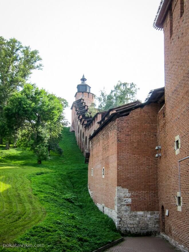 Нижегородский кремль: стена