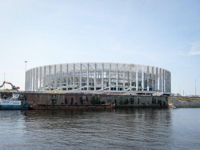 Новый стадион в Нижнем Новгороде