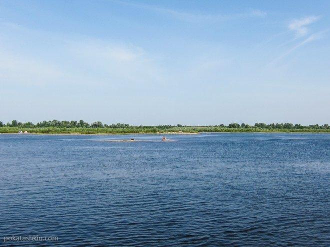 Островки на Волге