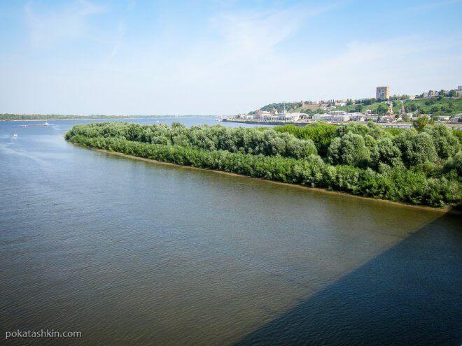 Река Ока и Гребнёвский канал (Нижний Новгород)