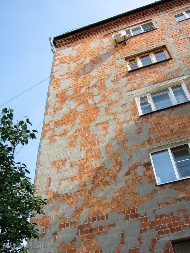Дом в заплатках (Нижний Новгород)