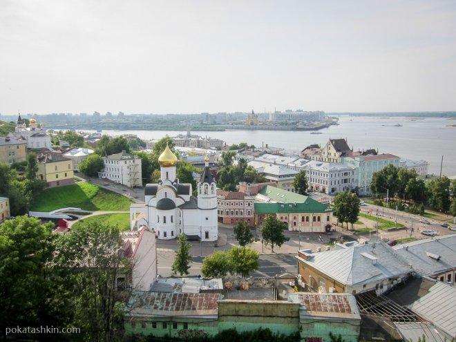 Ока и Волга (Нижний Новгород)