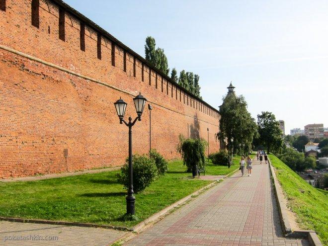 Стены Нижегородского кремля (Нижний Новгород)