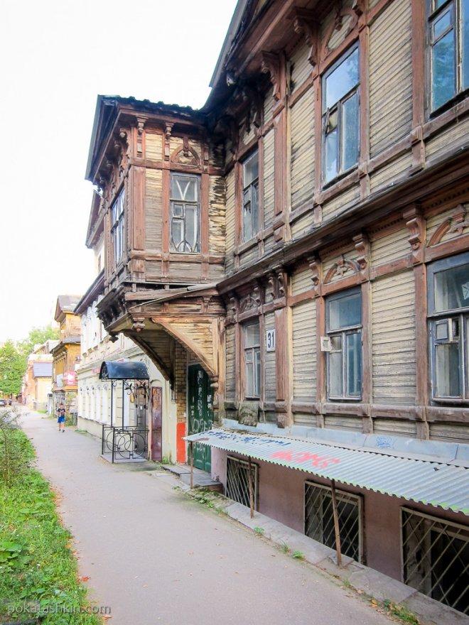 Деревянные здания (Нижний Новгород)