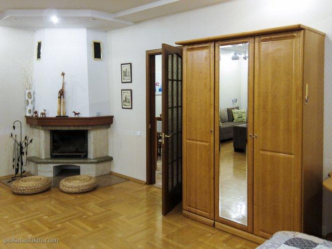 Гостевой дом «DOM18», жилая комната (Минск)