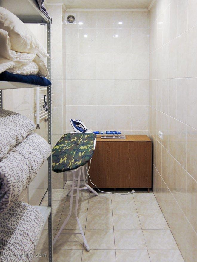 Гостевой дом «DOM18», гардеробная (Минск)