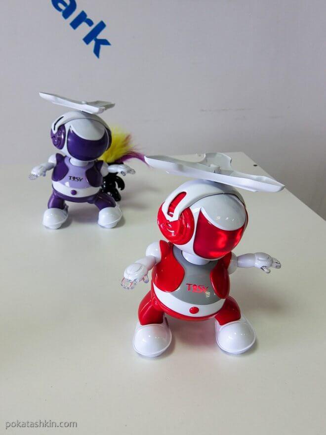 Танцующий Disco Robot Ruby