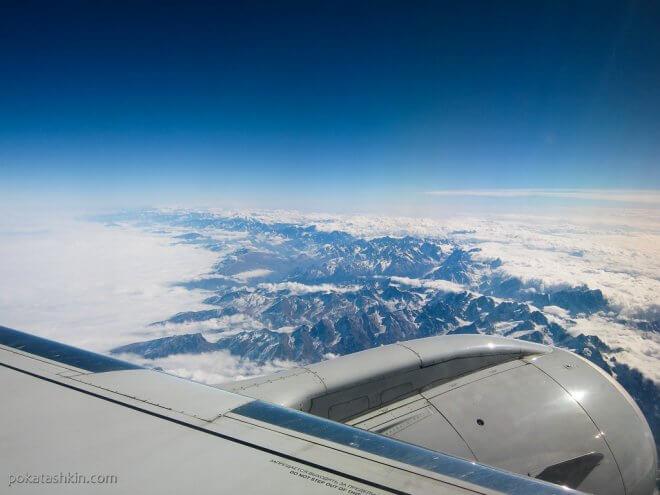 Полёт над горами