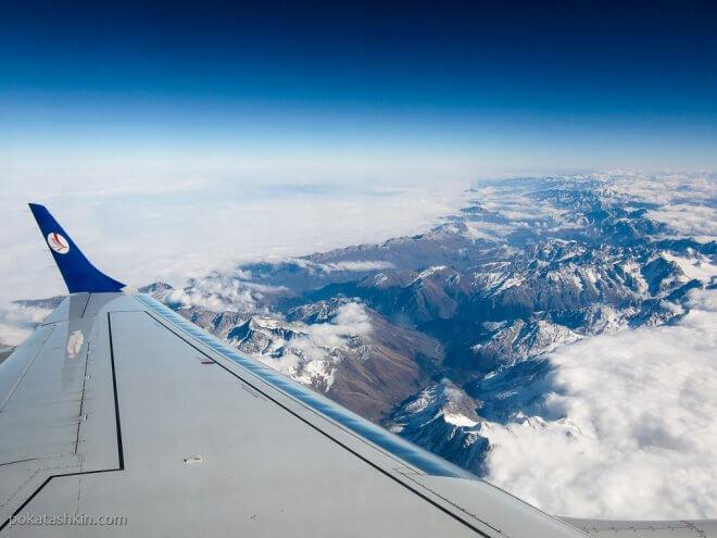 Полёт над Грузией