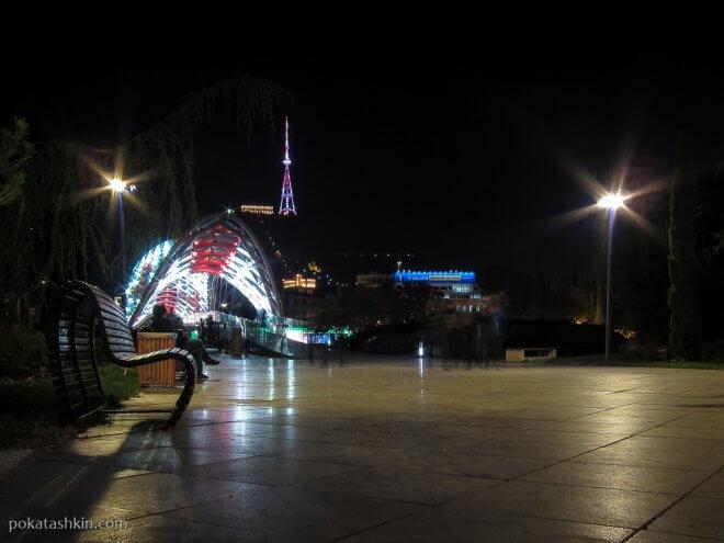 Ночной парк Рике