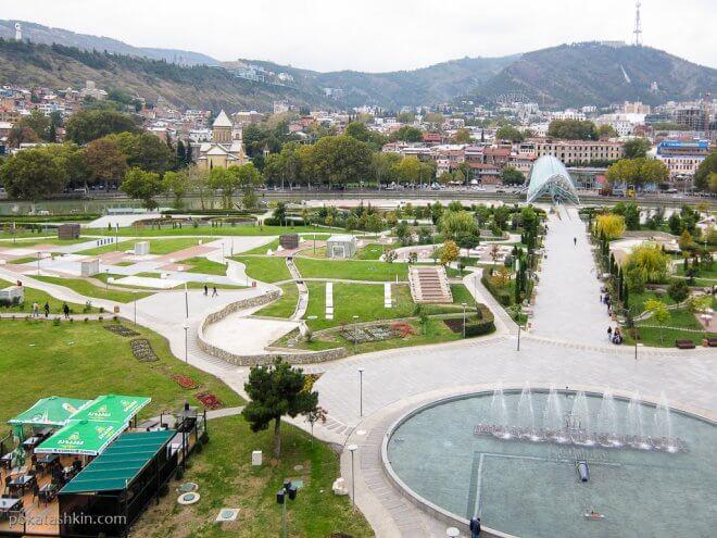 Парк Рике, Тбилиси