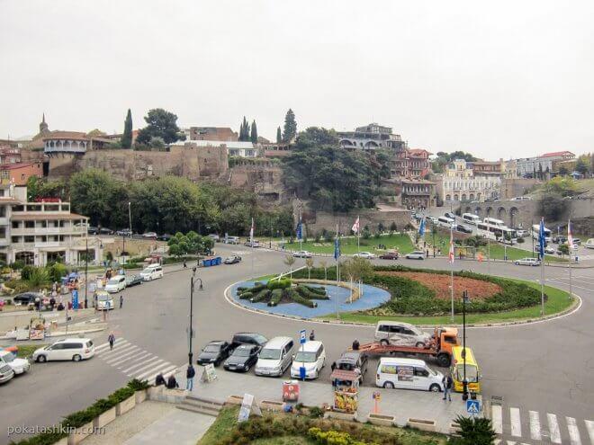 Площадь Европы, Тбилиси
