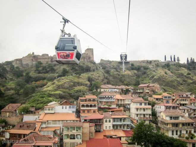 Канатная дорога, Тбилиси