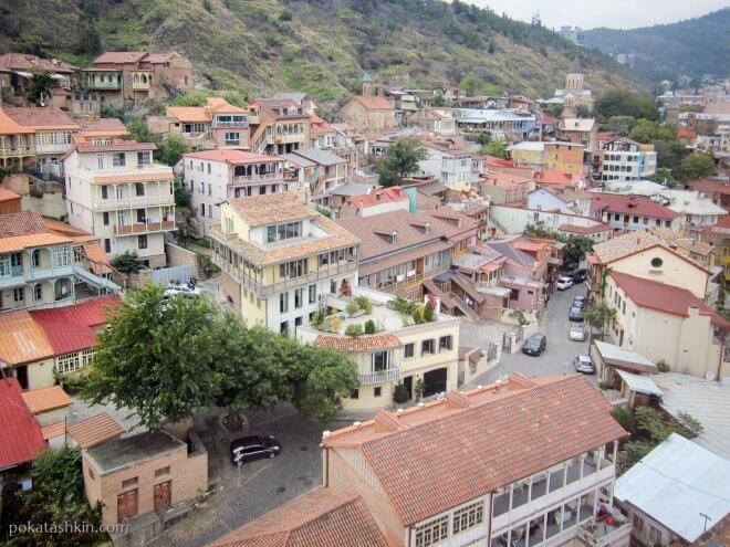 Дома в Тбилиси