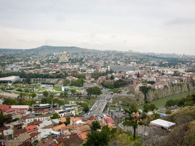 Мост Метехи, Тбилиси