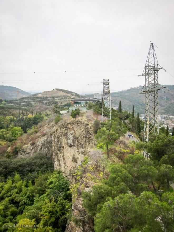 Вид с холма Сололаки