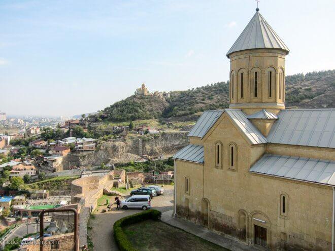 Церковь св. Николая в крепости Нарикала