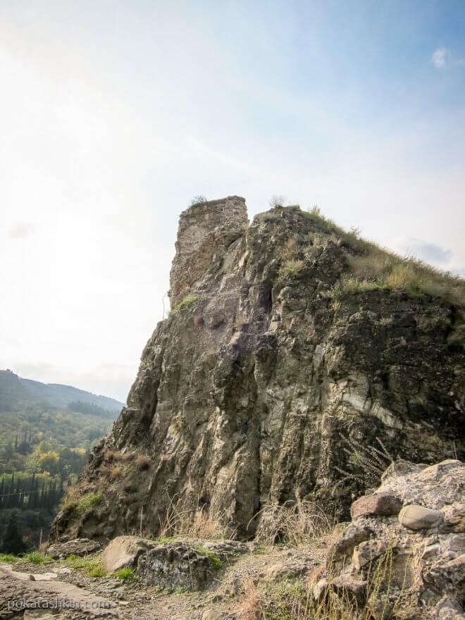 Горы в Тбилиси