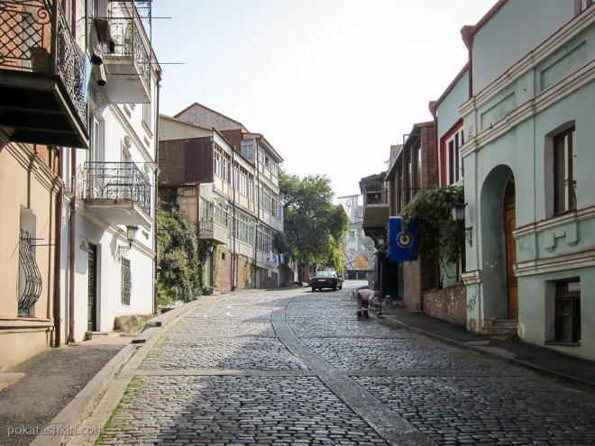 Улицы рядом с Президентским дворцом