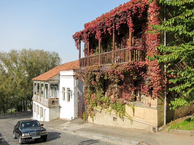 Дом в винограде