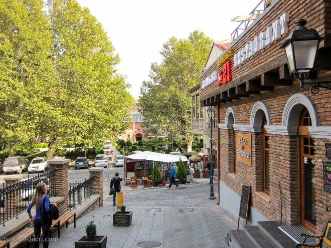 Улица Самгебро