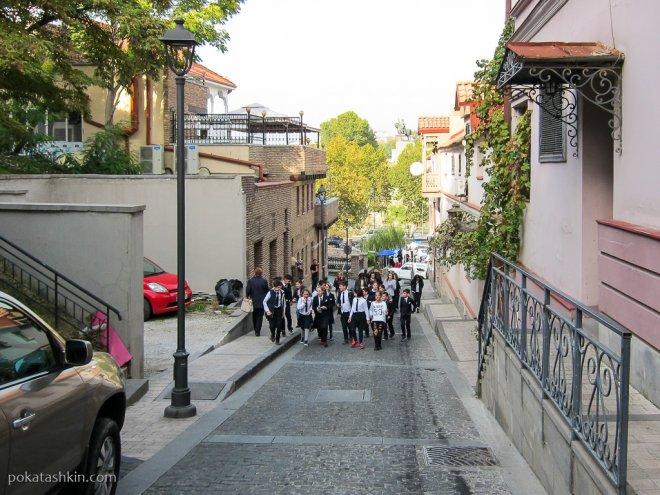 Тбилисские школьники