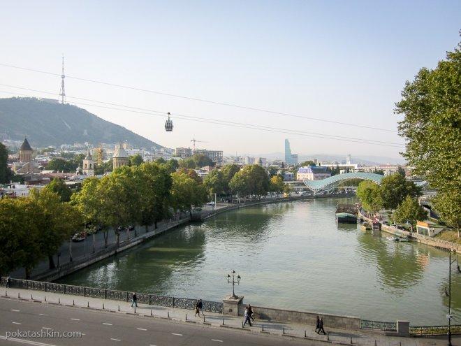 Восточная часть Тбилиси