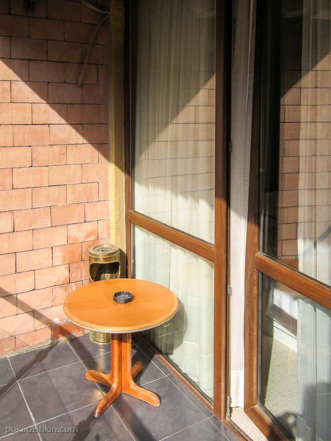 Балкон в номере в Hotel Sani *** (Тбилиси)