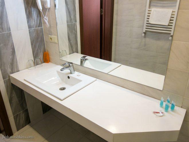 Ванная комната в Hotel Sani *** (Тбилиси)