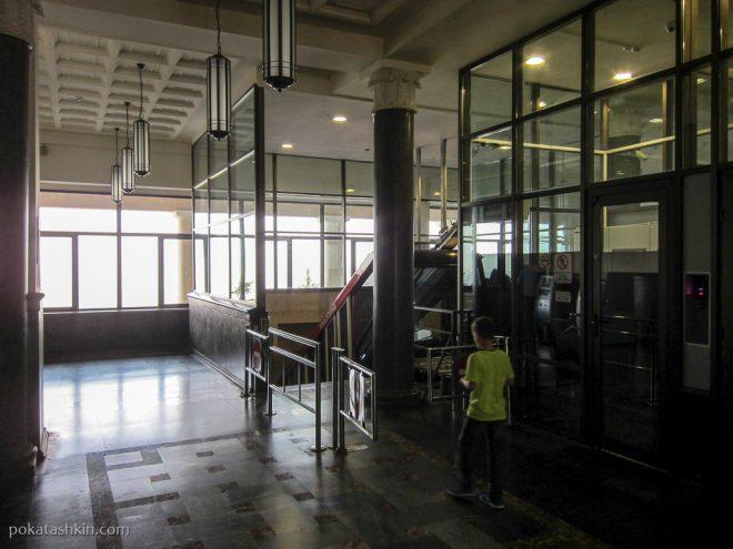 Тбилисский фуникулёр: верхняя станция