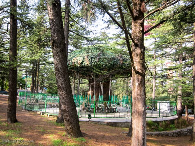 Парк Мтацминда: карусели