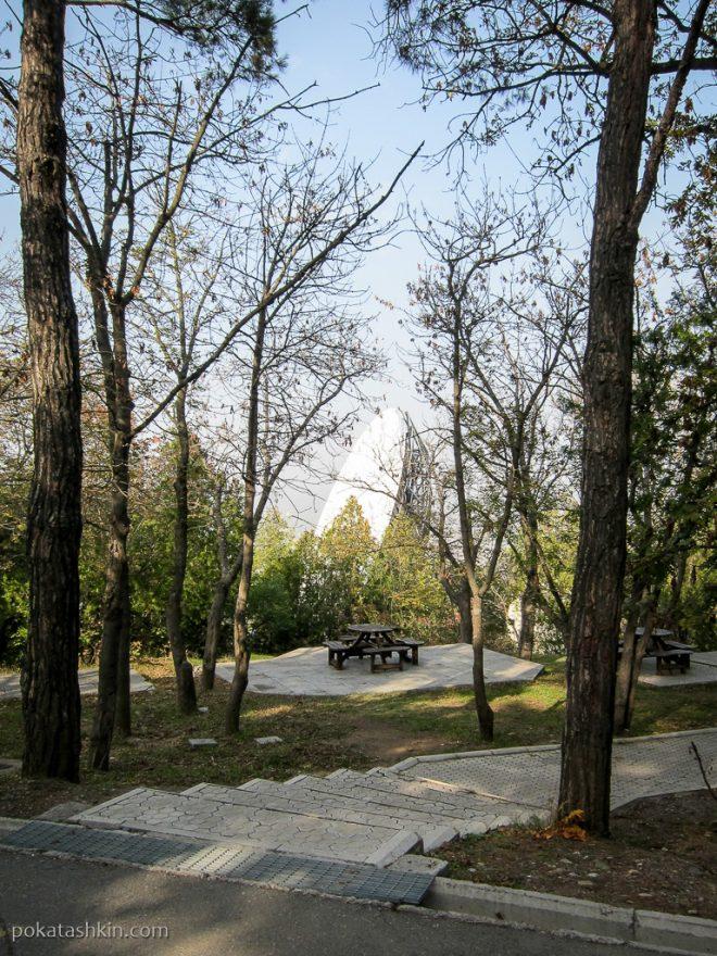 Парк Мтацминда: спутниковая антена