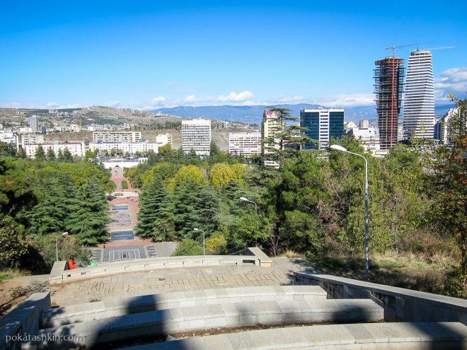Каскад фонтанов, парк Ваке, Тбилиси