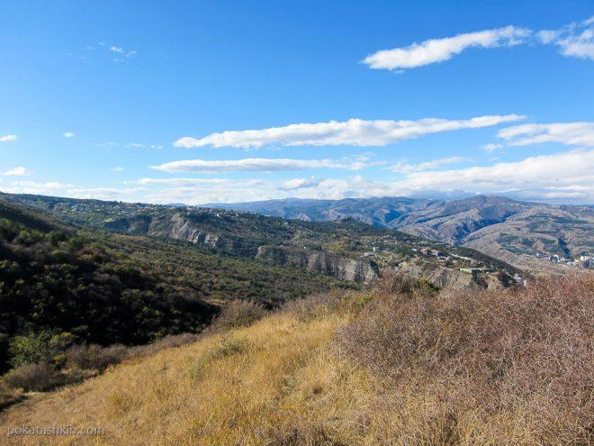 Горы Тбилиси