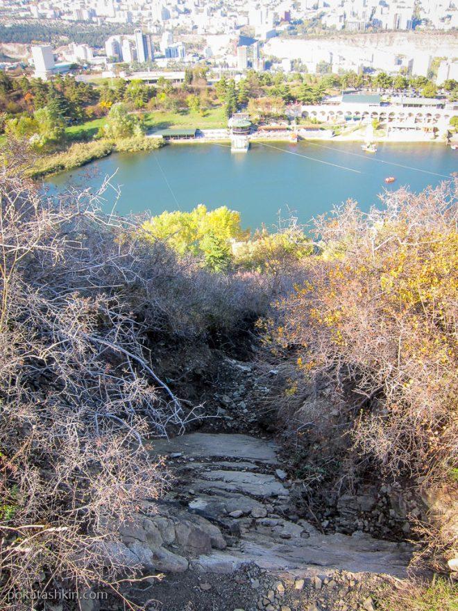 Черепашье озеро с высоты
