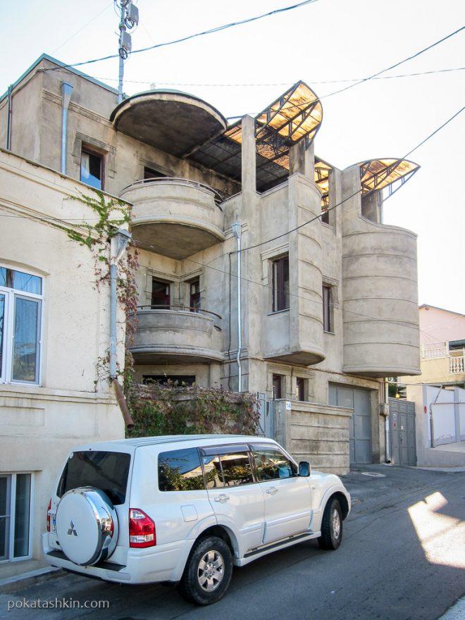 Современная застройка Тбилиси