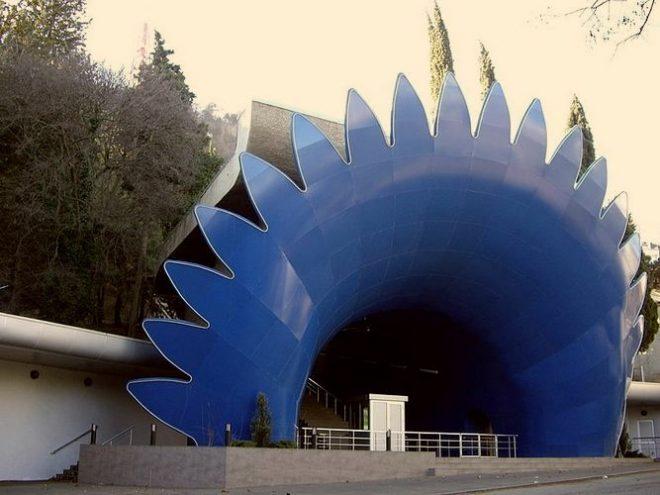Нижняя станция тбилисского фуникулёра