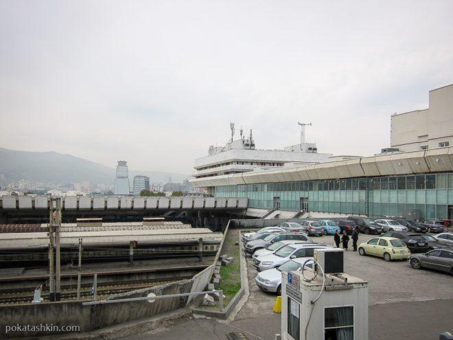 Железнодорожный вокзал, Тбилиси