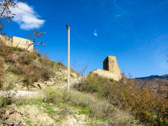 Развалины Бебрисцихе (крепость старца)