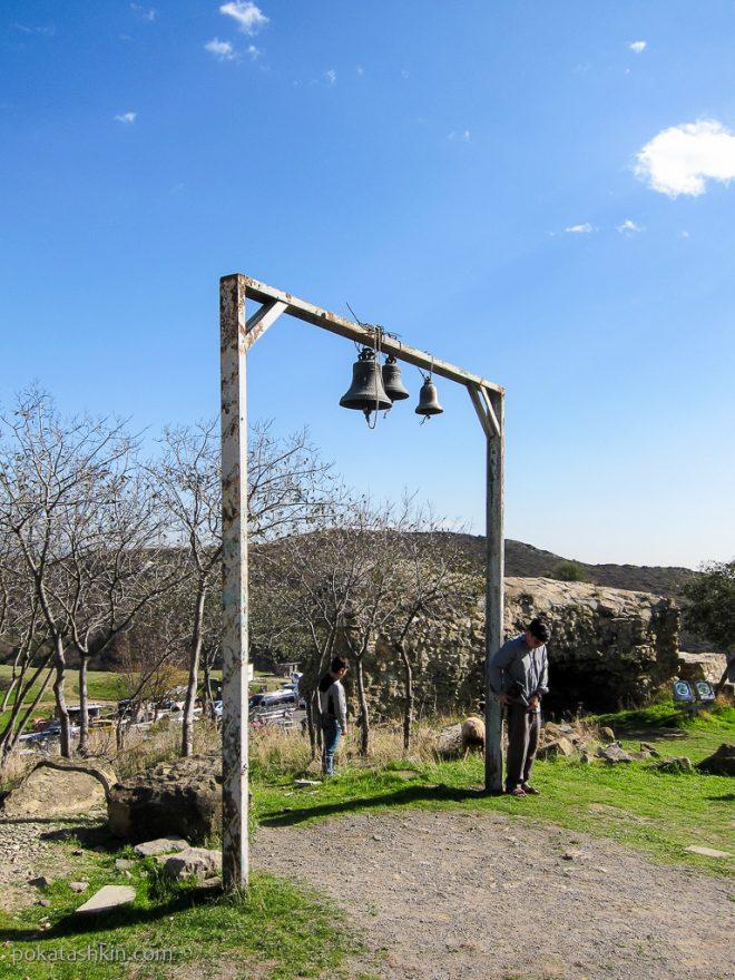 Колокола в монастыре Джвари